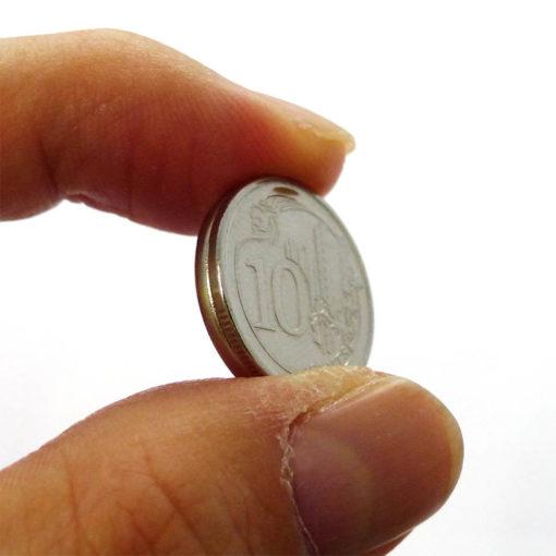 10cents coin diameter neodymium magnet