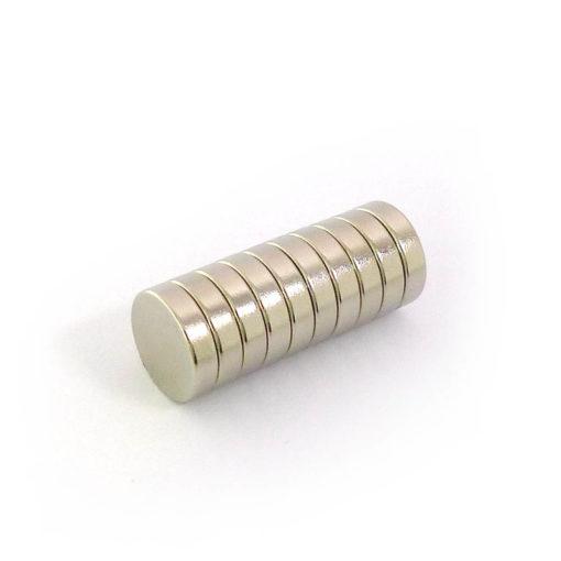12mmDiax3mm-10pcs Neodymium Magnets