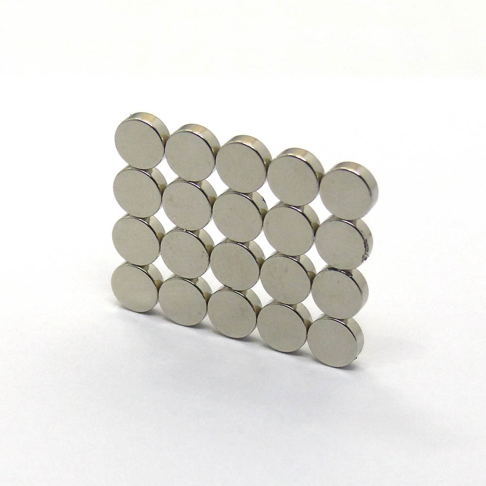 20pcs Small Disc Rare Earth N35 Magnets