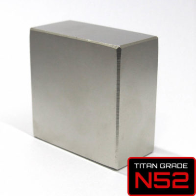 50x50x25mm N52 Neodymium Magnet - The Kraken