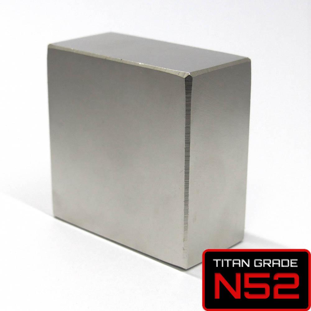 50x50x25mm N52 Neodymium Magnet - The Kraken