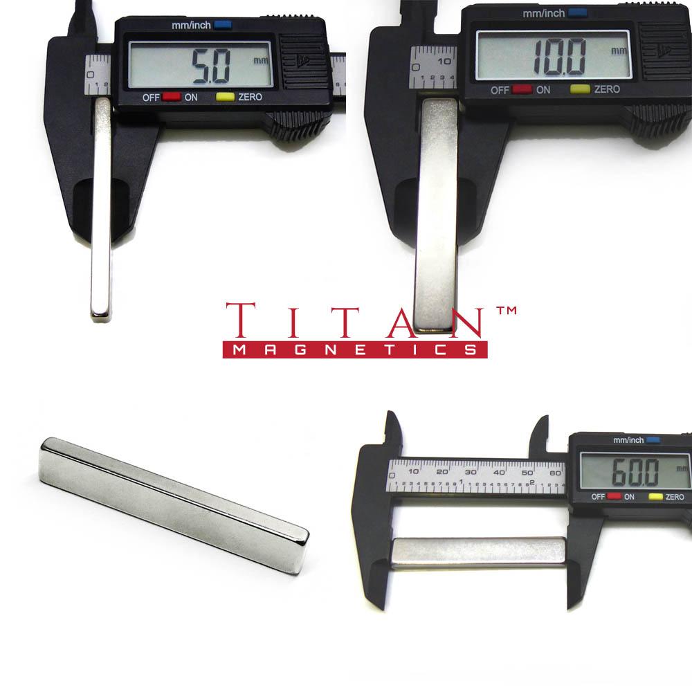 60x10x5mm KitKag Bar Magnet Specification
