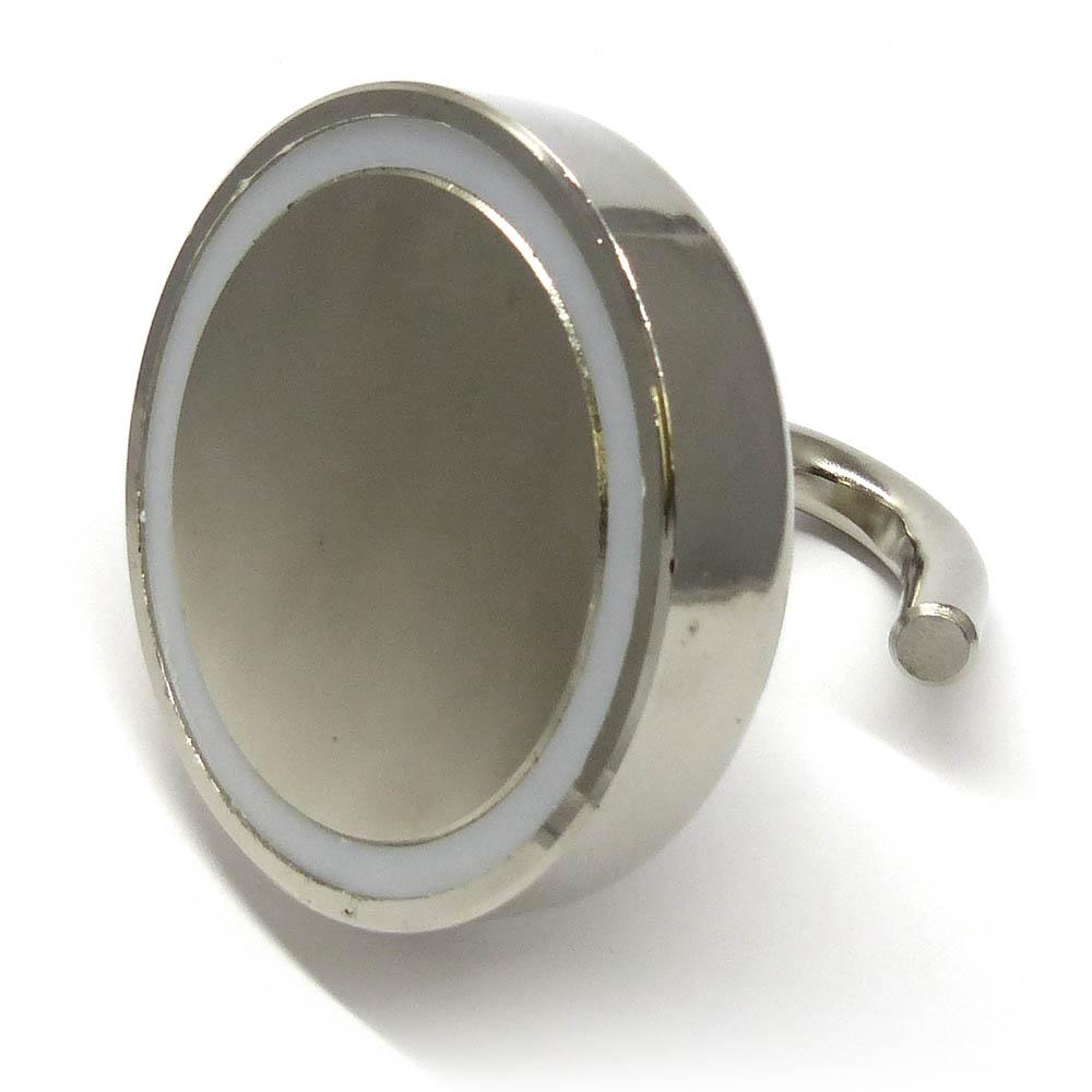 75mm dia hook eyelet magnet