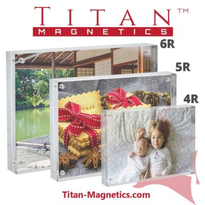 Acrylic Magnetic Photo Display Frames 4R 5R 6R sizes