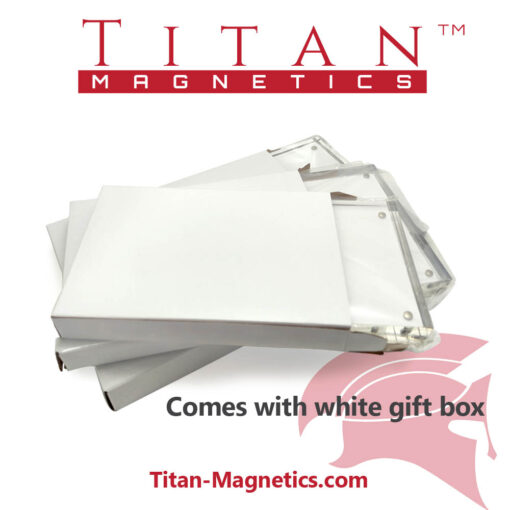 Acrylic magnetic certificate frame desktop