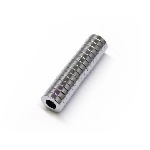 Chromium Plated Neodymium Ring Magnets-16pcs