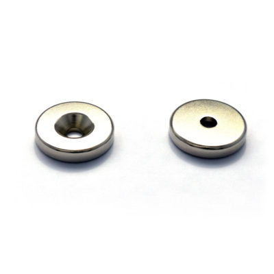 Countersunk Magnet D24 x ID6 x 5mm FacingPair