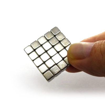 Cube Neodymium Magnets 5x5x5mm 25pcs