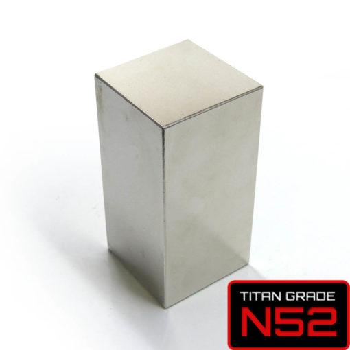 Dangerous N52 Giant Neodymium Magnet 80x40x40mm