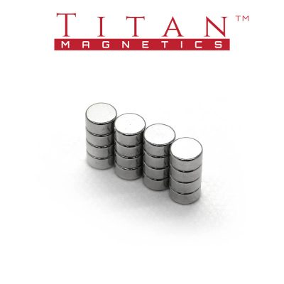 Dia. 6x3mm Neodymium Magnets 16pcs