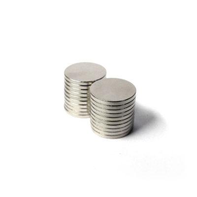 Disc Neodymium Magnets 10mm dia x 1mm 20pcs/pack
