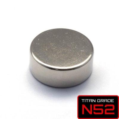 Disc Rare Earth Magnet D25x10mm-N52