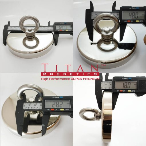 Extra Large Marine Eyelet Magnet D120mm Specifications