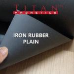 Plain Flexible Iron Rubber Sheet for attaching magnets