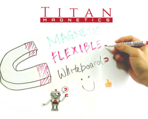 Flexible Magnet Whiteboard Roll - Singapore