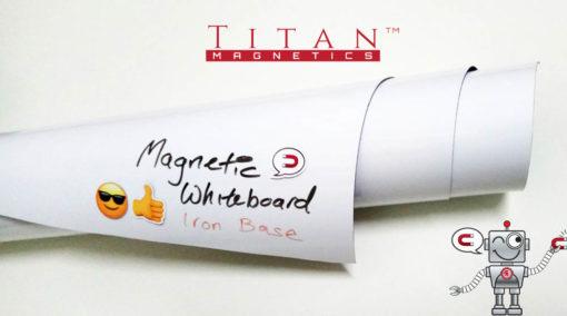 Flexible Magnetic Whiteboard Iron Based