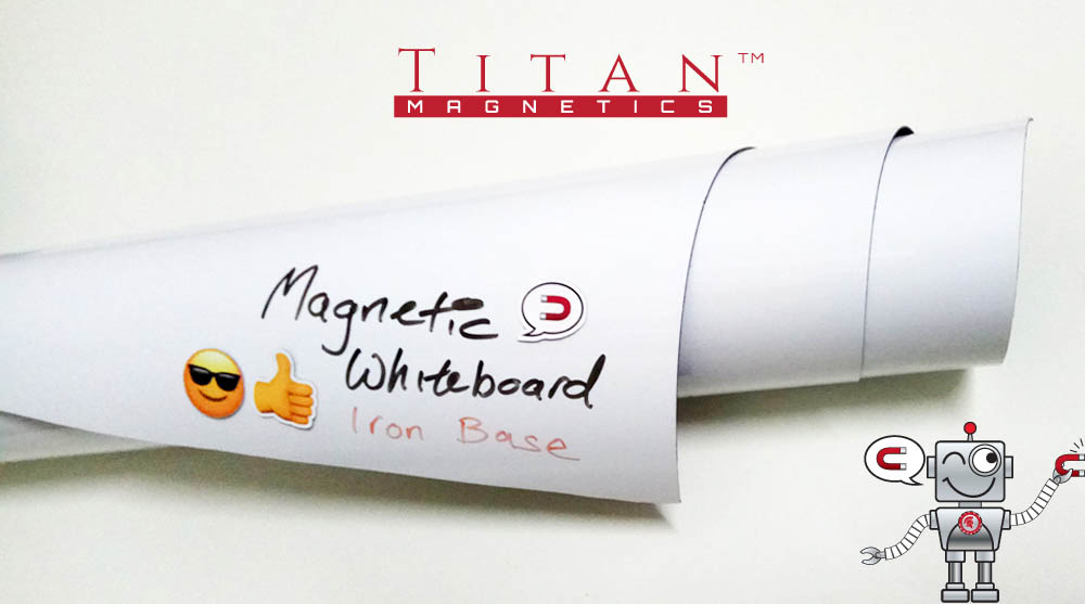 Flexible Magnetic Whiteboard Iron Based