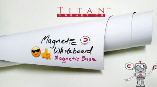 Flexible Magnetic Base Whiteboard Sheet