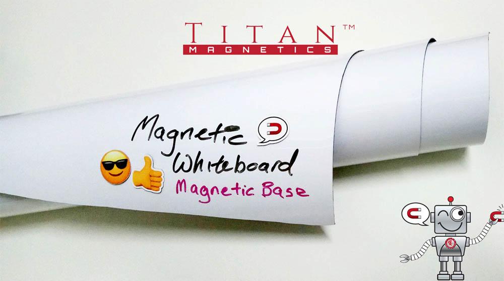 Flexible Rubber Magnetic Whiteboard Sheet