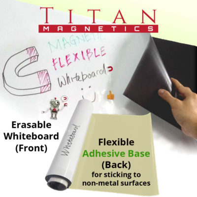 Flexible Magnetic Whiteboard Adhesive Base