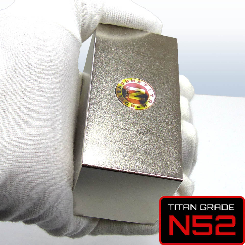 Titan Magnetics Handling Large Neodymium Magnet