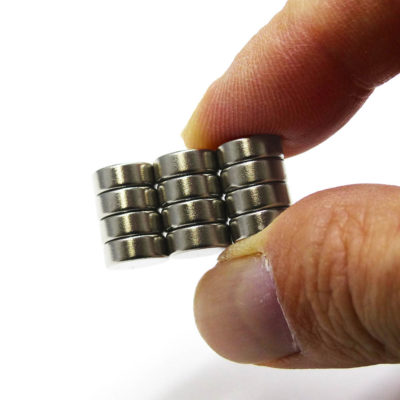 Holding Dia. 8mm Disc Magnets