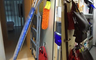 Super Strong Hook Magnets On Store Room Metal Door