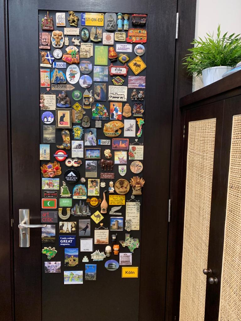 Iron Rubber Sheet for Display of Souvenir Fridge Magnets