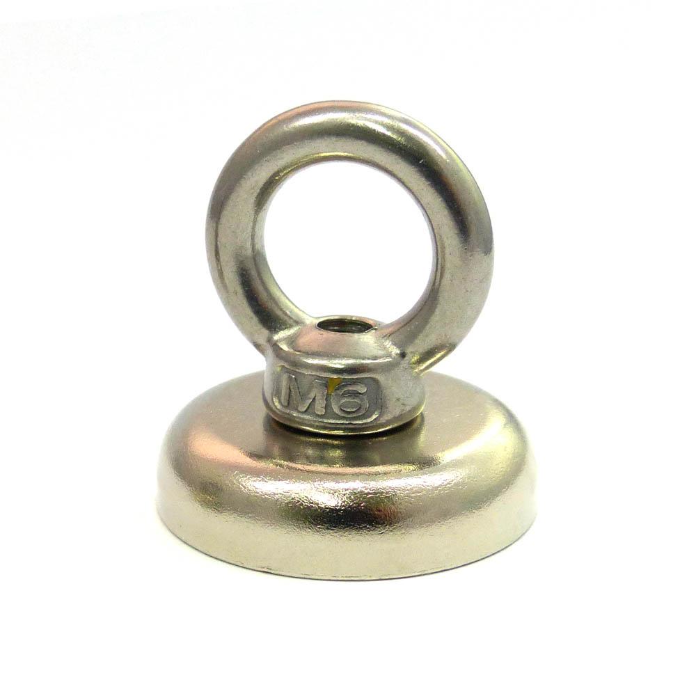 M6 eyelet bolt magnet D36mm