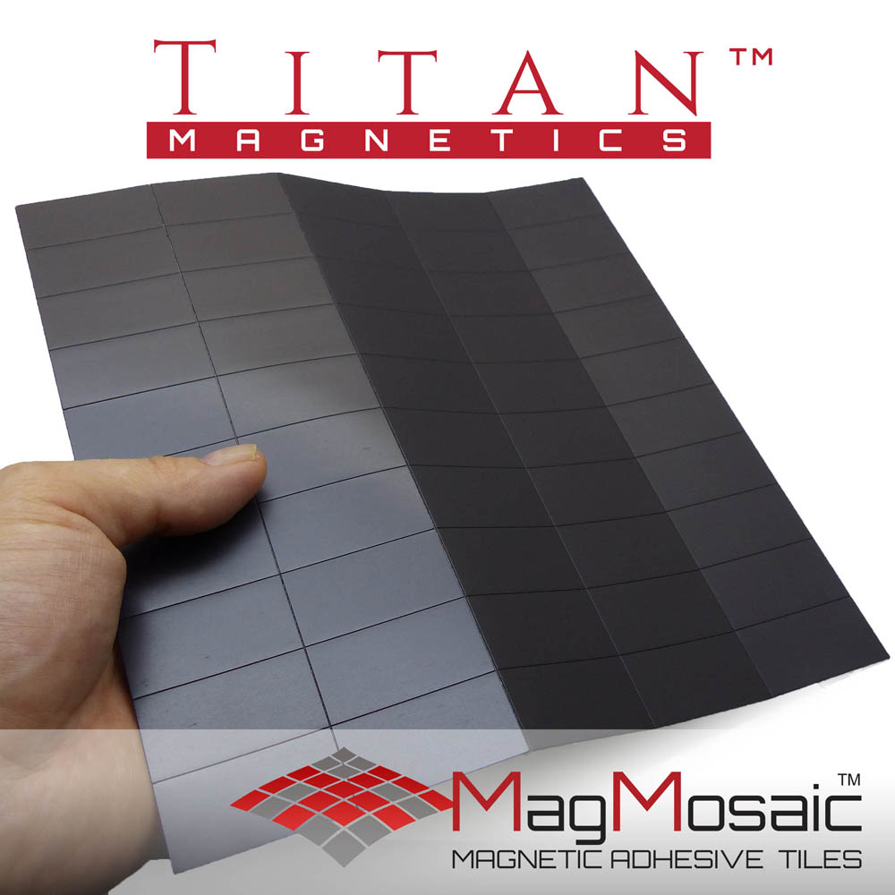 MagMosaic- Adhesive Magnetic Tiles 20x40mm