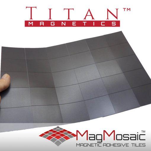 MagMosaic-Pre-cut Adhesive Rubber Magnets 40x50mm