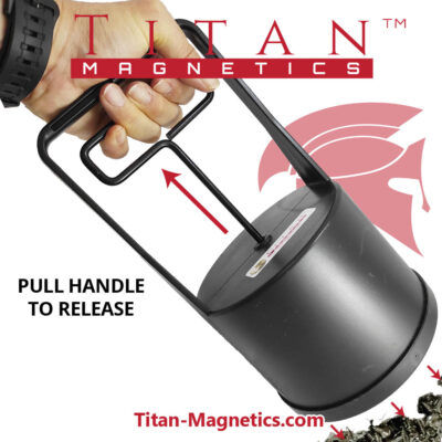 Magnetic Pickup Tool with quick release discharger