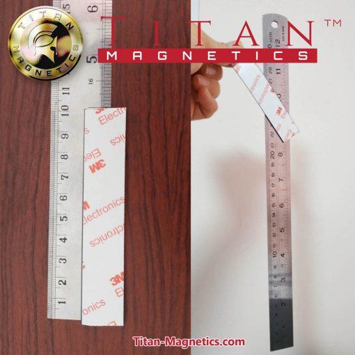 Magnetic Tape 3M Adhesive 10CMx2CMx2MM