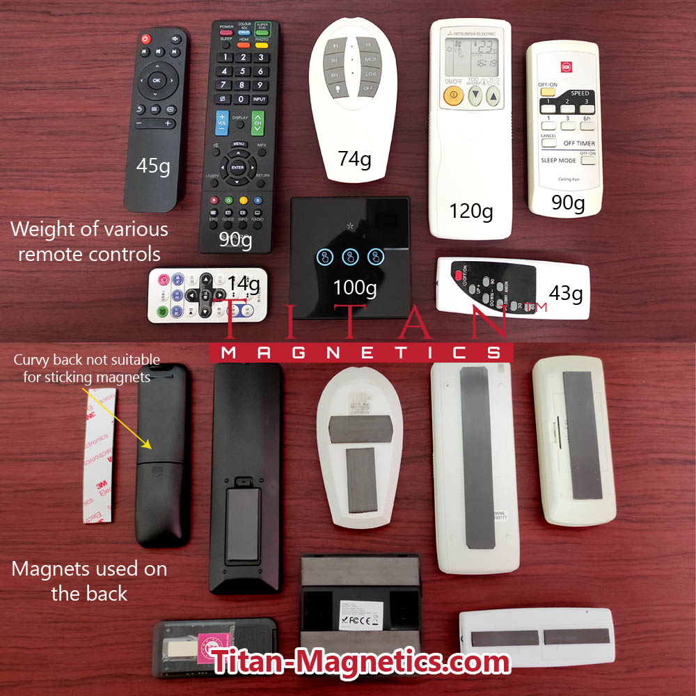 Magnetic Tape For Variou Sizes of Remote Controls