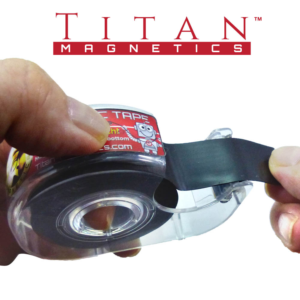 Magnetic Tape Singapore 19mm Wide - Titan Magnetics