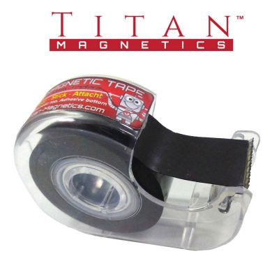 Magnetic Tape with Clear Dispenser