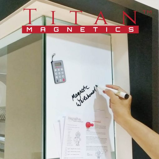 Magnetic Whiteboard on Glass