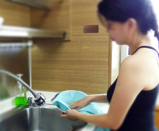 QuikCloth Magnetic Towel for dish drying