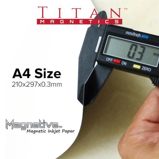 Magnetive A4 Inkjet Paper for Crafts and DIY Fridge Magnets