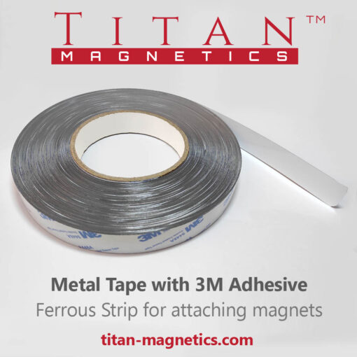 Metal Tape With 3M Adhesive Ferrous strip for magnets