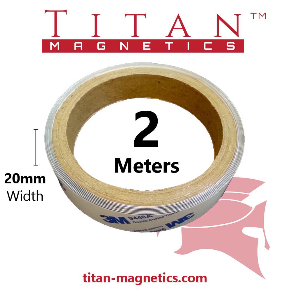 Metal strip with 3M Adhesive- 2meters roll