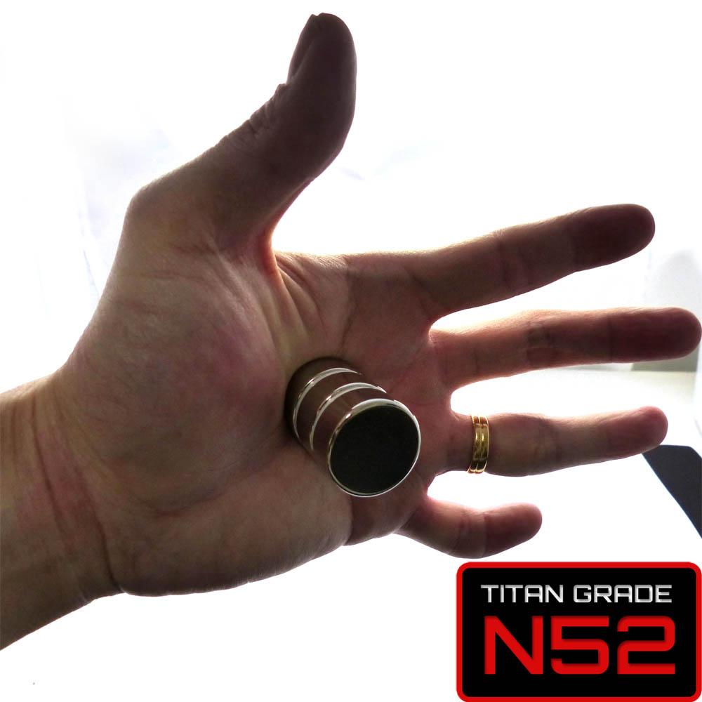 n52 disc neodymium magnet 25mm dia x 10mm 1pcspack