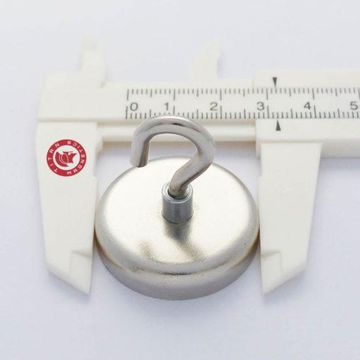 Neodymium Hook Magnet dia 32mm