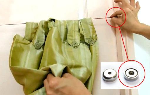 Neodymium Pot Magnets Hanging Curtain