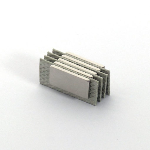5pcs Neodymium Block Magnets with Separators