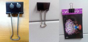 QuikDisc on Metal Clip