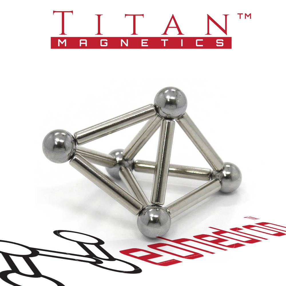 Neohedron Magnetic Octahedron by Titan Magnetics
