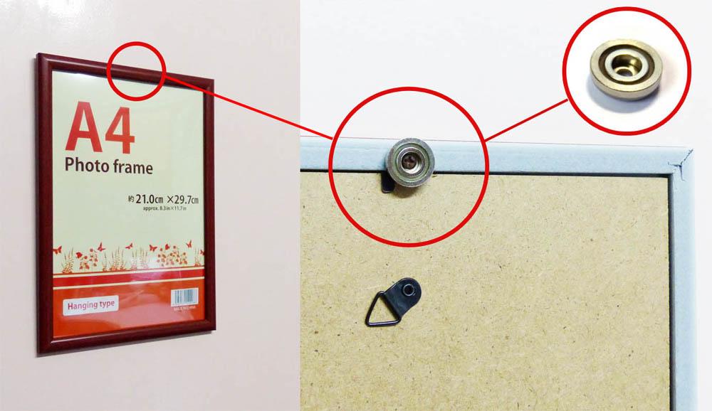 Pot Magnet on Photo Frame