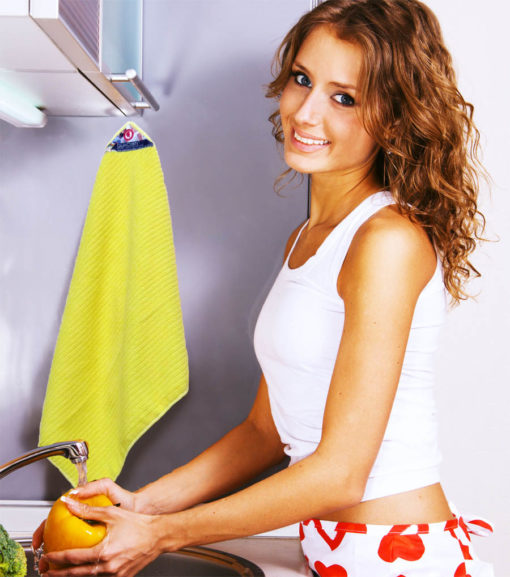 Magnetic Cloth Kitchen Helper