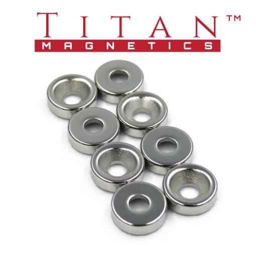 Screw-on Magnets RCM-D10x3x3-8pcs